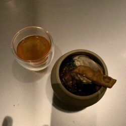 Alinea Pork and Tea