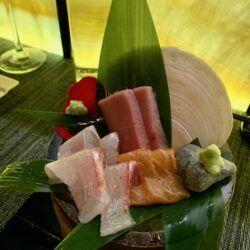 Juno King Salmon Lean tuna seabass sashimi 5 6 7