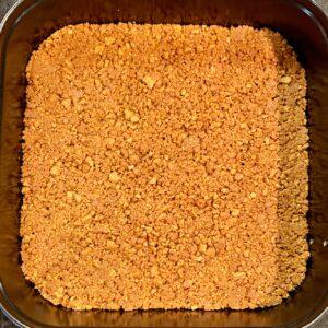 Togarashi cheesecake crust