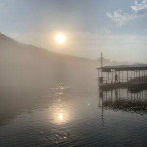 Sunrise on White River
