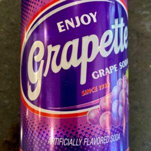 Grapette Soda can