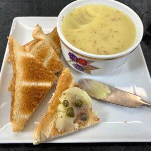 marrow butter on toast