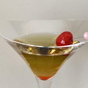 Bijou cocktail side